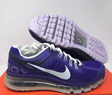 NIKE Air Max 2013 Electro Purple-White SZ 6Y//WMNS 7.5 [555753-501]