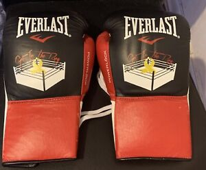 Signed Daniel Jacobs Fight Used Boxing Gloves Worn In Title Fight Vs Sergio Mora