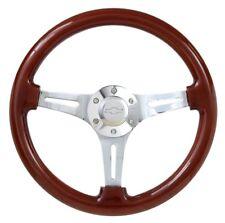 Real Wood Steering Wheel + Adapter for 1968 Pontiac Fire Bird or Camaro!!!