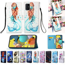 For Samsung A21 A51 A71 A10S Note 10 Leather Wallet Case Flip Stand Case Cover
