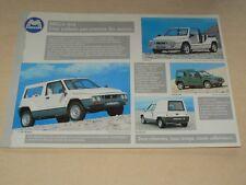 Prospectus voiturette MEGA 4X4  Microcar Fourgon camion truck LKW  brochure car