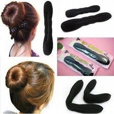 2* Pince à cheveux magique coiffure Clip Femmes Sponge pratique fixation forte