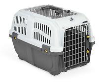 Transportbox Flugbox Autobox Hundebox Katzenbox SKUDO 2 OPEN IATA 55x36x35cm