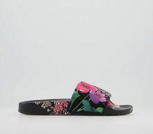 Womens Ted Baker Ashlin Sliders Black Sandals