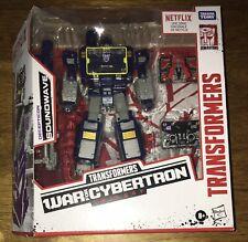 Transformers SOUNDWAVE War for Cybertron Walmart Exclusive Netflix Cartoon US
