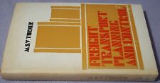 FREIGHT TRANSPORT PLANNING AND CONTROL Turner BUSINESS PUBLISHING 1966 HB DW 1/1
