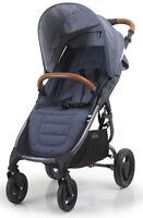 Valco Baby Snap 4 Trend Compact Fold Lightweight Single Stroller Denim NEW
