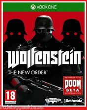 WOLFENSTEIN The New order X-Box One Xbox Microsoft Jeu Video