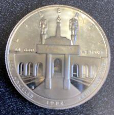 1984-S $1 Olympics XXIII Los Angeles Silver Dollar TEAM USA GEM PROOF !!