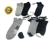 Mens Socks 6 Pairs Womens Quarter Ankle Cotton Trainer Sports Socks Lot 6-11
