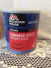 Mountain House Freeze Dried Food Cinnamon Apples Fuji Apple Slices #10 Can