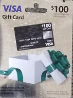 $100 Gift Card -  Activation Fee Paid - US Only - Free Shipping.