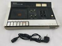 Sony TC-135SD Stereo Cassette Deck Cassette Recorder as is (read condition)