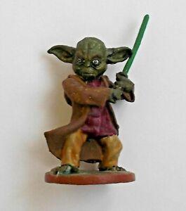 "Master Yoda Star Wars Jedi Knight Handmade Figure Tin Metal Soldier 35 mm / 1,4"""