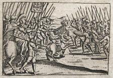 SCHLACHT VON ALCAZARQUIVIR BATALHA DE ALCACER-QUIBIR MAROKKO 1578
