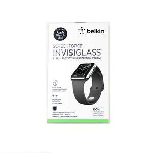 BELKIN INVISIGLASS FOR APPLE WATCH SERIES 3 2 1 NIKE+ SPORT 42MM GLASS F8W715TT