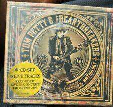 TOM PETTY & THE HEARTBREAKERS - THE LIVE ANTHOLOGY CD - 4 CD SET -FREE SHIPPING!