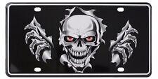 3D Skull Bones License Plate Frame by Pilot