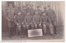 Foto Ak Gruppenbild in Kowel heute Ковель Ostern 1918