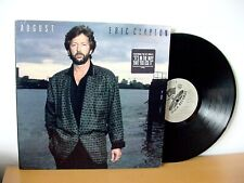 "ERIC CLAPTON ""August"" Original PROMO LP from 1986 (WB/DUCK 25476) Phil Collins"