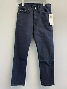 Polo Ralph Lauren Boys 10,12,14,16,18,20 Sullivan Slim Skinny Jeans Navy Pants