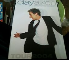 Clay Aiken Program Independent Tour 2004 American Idol
