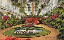 ST LOUIS, MO Missouri  THE JEWEL BOX~Forest Park  FLOWER GARDEN  1945 Postcard