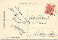 P7586   Egeo, Rodi, Cartolina FG per l'Istria 1940