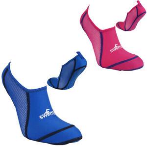 Swim Tech Pool Socks - Anti Slip Enhanced Grip Poolside Swimming Sock Kids Adult
