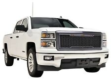 2014 2015 Silverado 1500 Raptor Style Grille Charcoal Gray LED 14-15