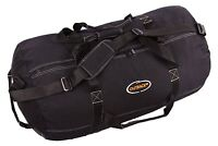 "Outback Men's Heavy-Duty GIANT Canvas Black Duffle Bag Travel Luggage 48"" x 20"""
