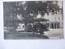 Ansichtskarte Niederbronn Partie beim Kurhaus 1912