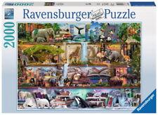 2000 Teile Ravensburger Puzzle Aimee Steward Großartige Tierwelt 16652