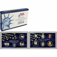 2004-S Proof Set United States US Mint Original Government Packaging Box & COA