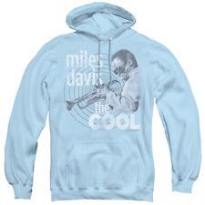 Miles Davis Hoodie The Cool Light Blue Hoody