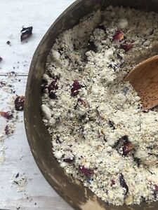 Vegan & Natural Oat and Coconut Milk Bath Soak. Dry Skin | Eczema | Baby Rashes