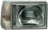 19751878 19751879 Coppia fari Proiettori DX SX elettrico chiaro Fiat Panda 86-03
