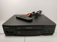 Hitachi VT-F381A 4Head HIFI Stereo VHS VCR -  W/ Remote & RCA Cable Tested Works
