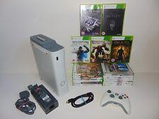 Microsoft Xbox 360 Pro 20GB Consola Blanco Mate (PAL) + 17 Gratis Paquete De Juegos