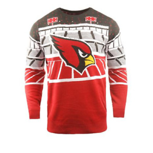 ARIZONA CARDINALS Bluetooth Light-Up Ugly Sweater Officially Licensed NFL XL