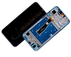 Display Für Huawei Honor 10 Lite Komplettes Bildschirm Lcd Touch Rahmen Blau