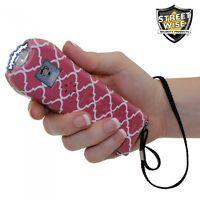Streetwise Ladies' Choice 21 Million Volt Stun Gun Pink/White Pattern for Women