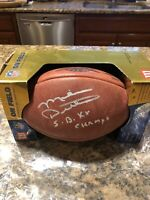 Mike Ditka Signed Official NFL Super Bowl XX DUKE Football PSA/DNA COA BEARS