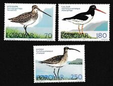 Mint Never Hinged/MNH Birds Danish & Faroese Stamps