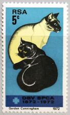 RSA SÜDAFRIKA SOUTH AFRICA 1972 414 Tierschutzverein Katzen Cats Tiere MNH