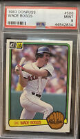 1983 Donruss WADE BOGGS PSA 9 MINT #586 - Red Sox