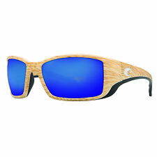 Costa BL86OBMP Blackfin Sunglasses 580P Blue Mirror Lens Ashwood Frame!
