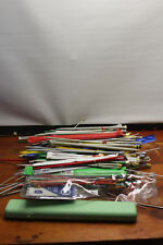 VINTAGE NEEDLES with 2 holder-pouches over 400 pce