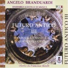 "ANGELO BRANDUARDI ""FUTURO ANTICO III""  CD NEU"