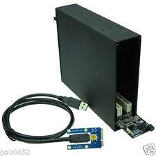 Mini PCIe to 2 PCI 32bit Slot Expansion Card Mini PCIe to PCI Sound Network Card